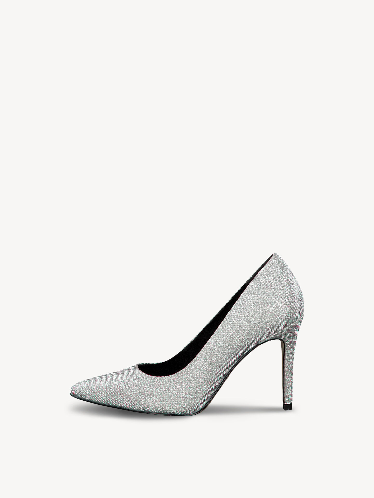 tamaris black matte pumps, Tamaris plateau pumps i flot sort