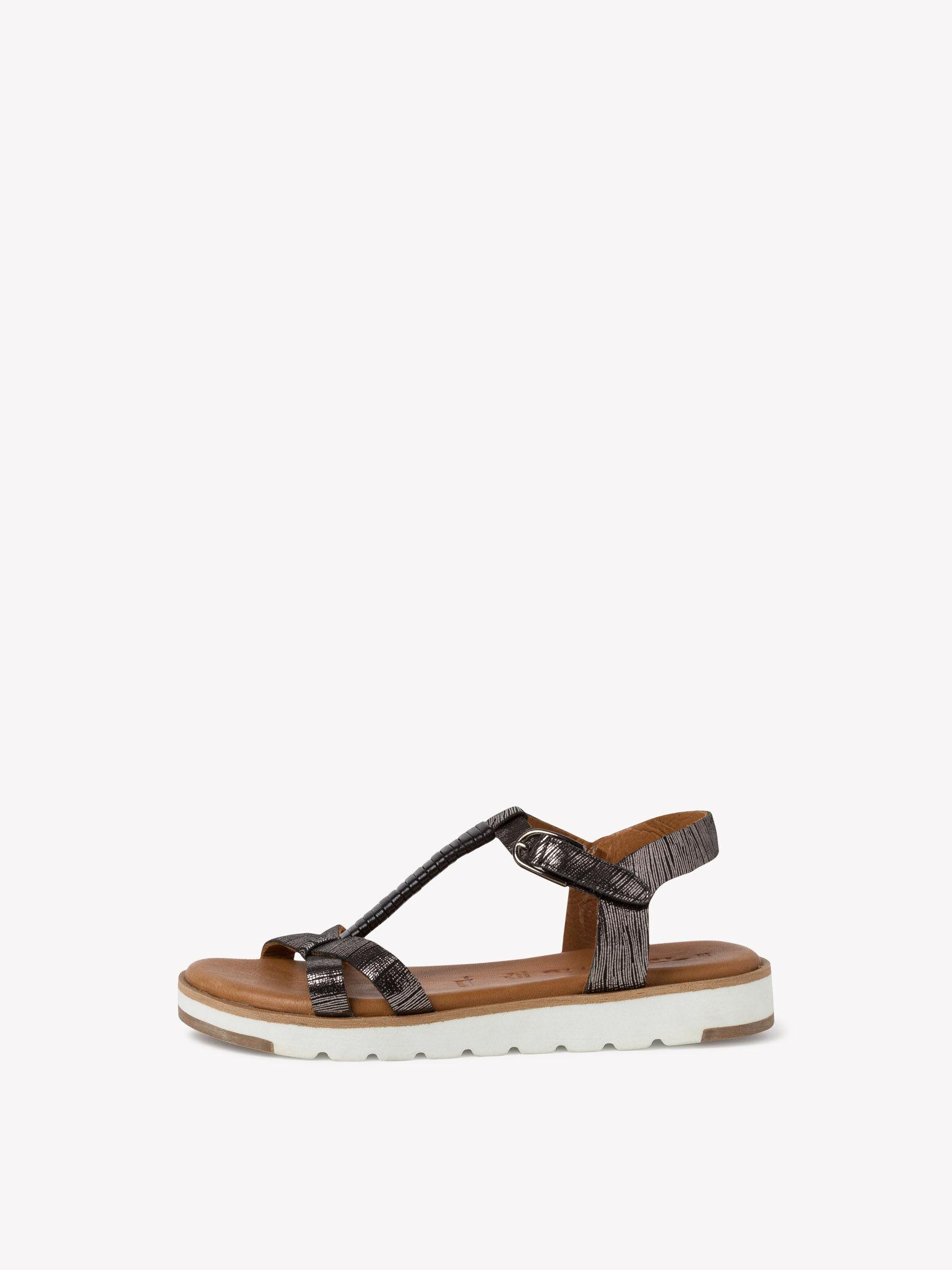 tamaris sandalen schwarz 40