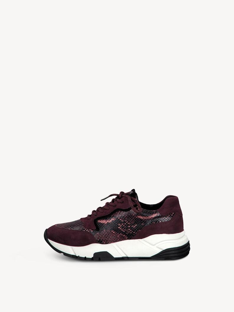 Sneaker - rot, BORDEAUX COMB, hi-res