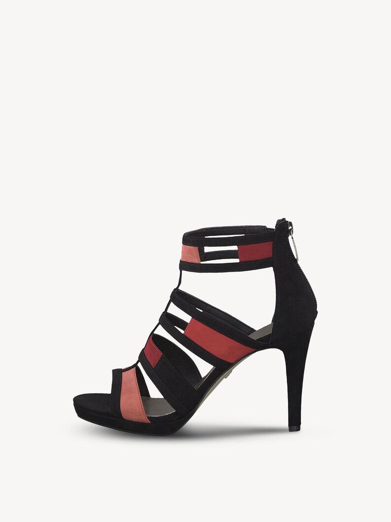 Sandal - black, RASPBERRY COMB, hi-res