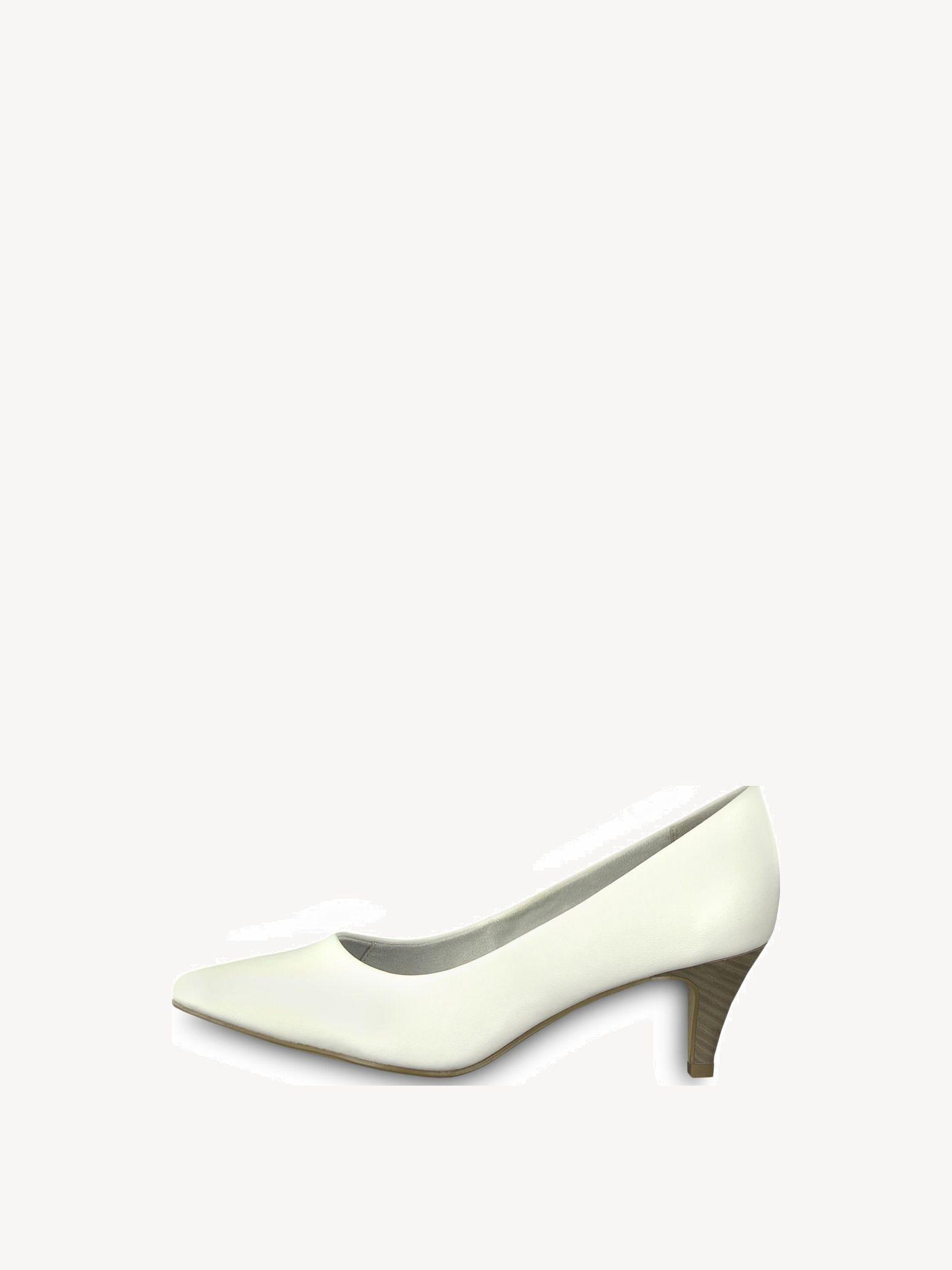 22445, Escarpins Femme, Blanc (White Matt), 41 EUTamaris