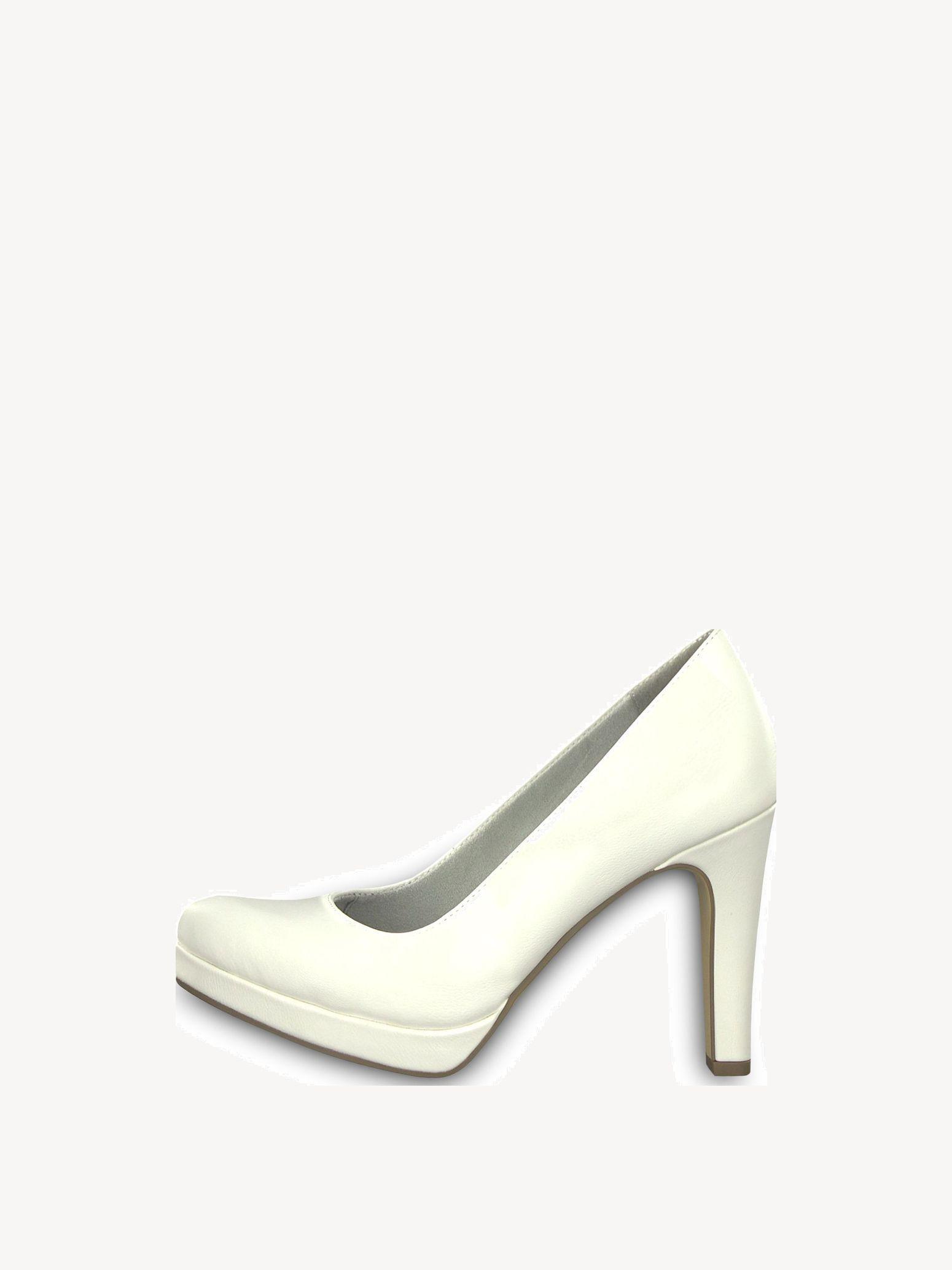 Tamaris Brautschuhe Blanc - Chaussures Escarpins Femme