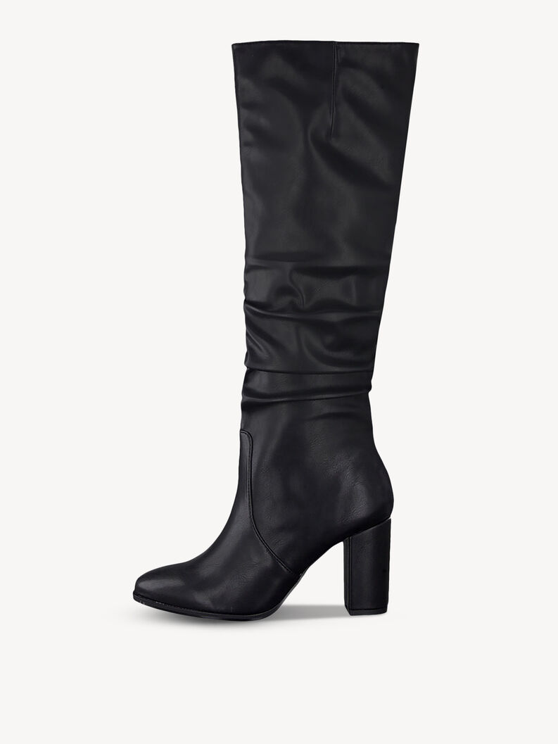Overknee boots - black, BLACK MATT, hi-res
