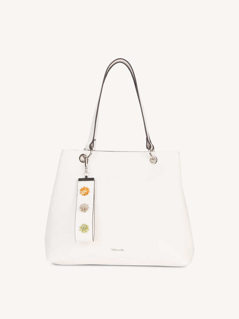 Shopping bag - white, white, hi-res
