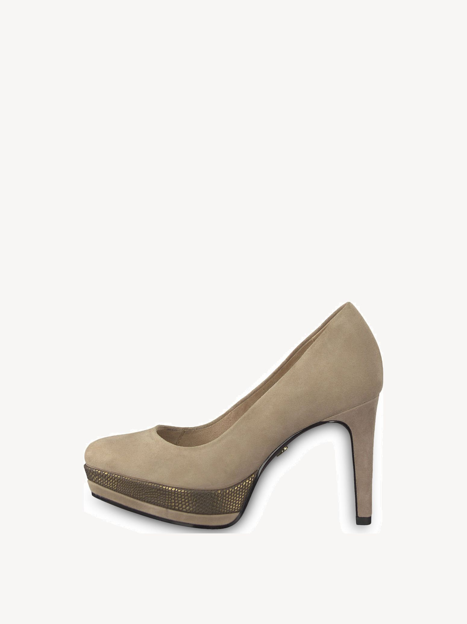 Leather High Heel