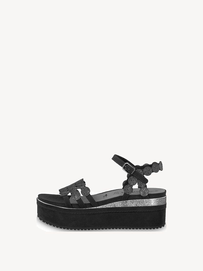 Sandál - černá, BLACK COMB, hi-res