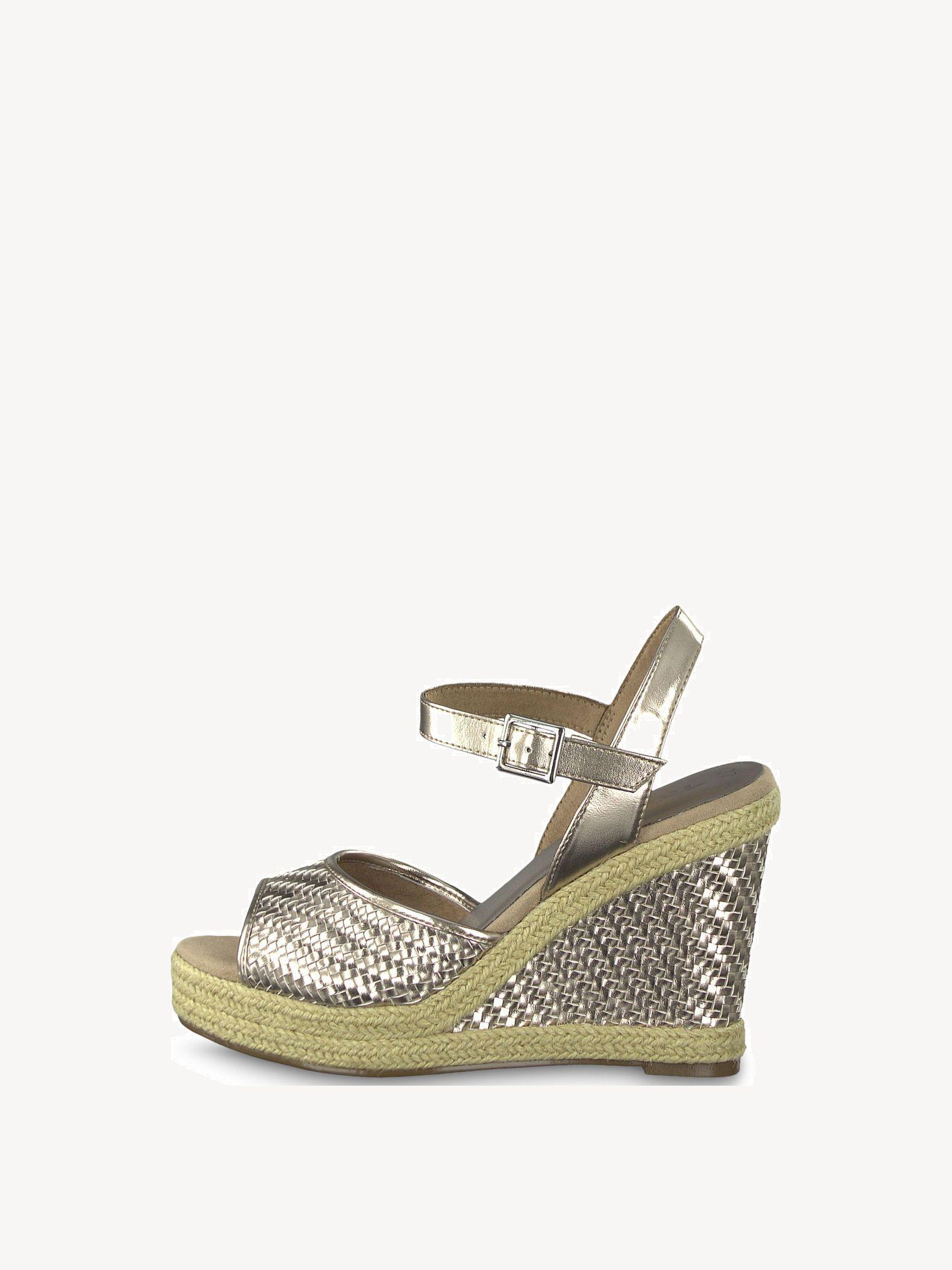 Buy Online Now Tamaris Sole Plateau Sandals 54R3jAL