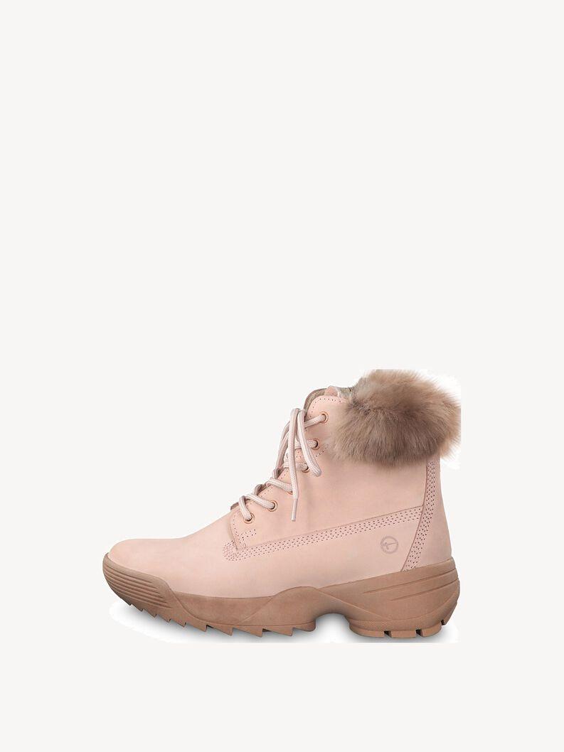 Kožené Kotníčková obuv - růžová, LIGHT PINK, hi-res