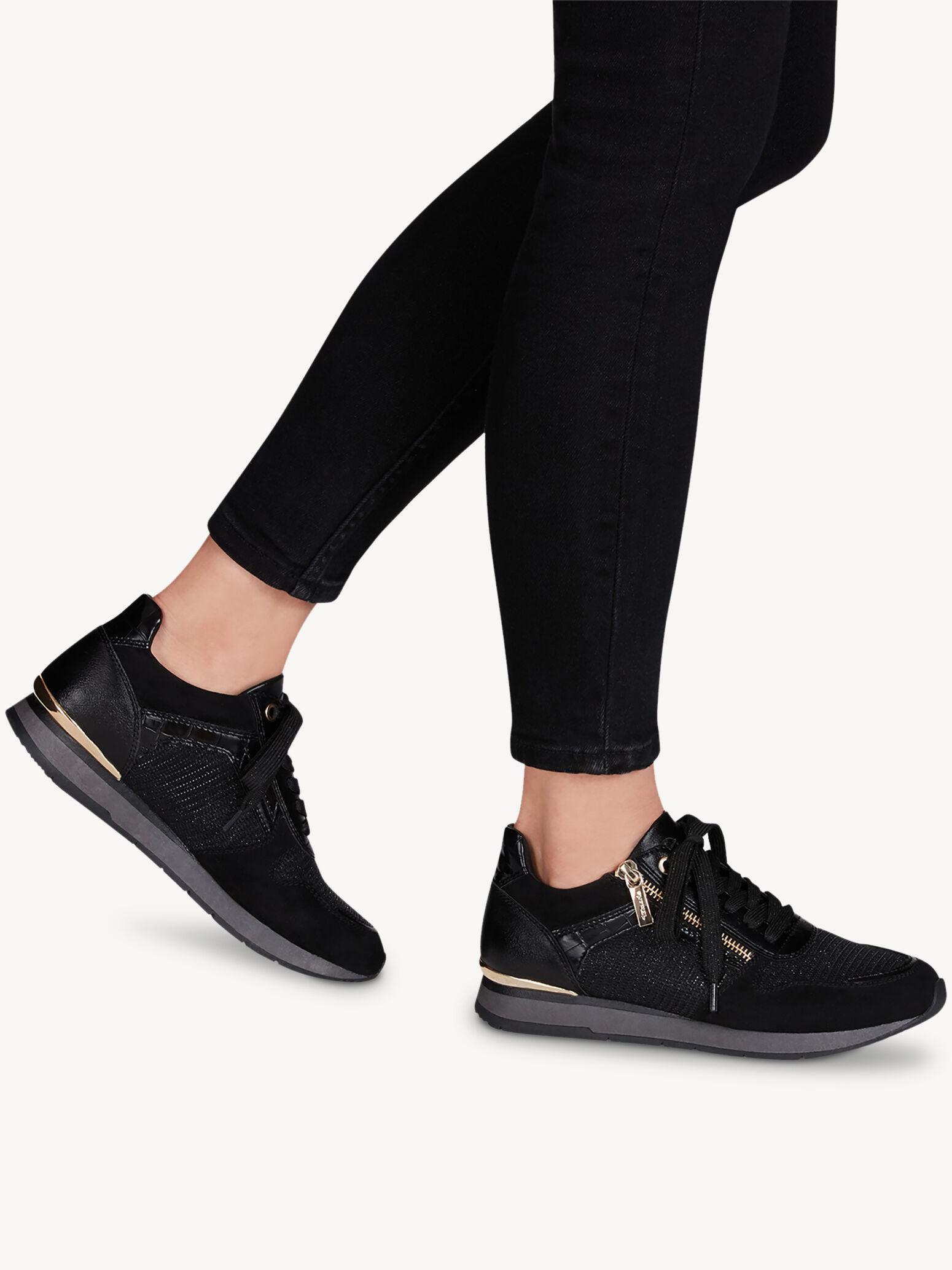 tamaris sneakers black