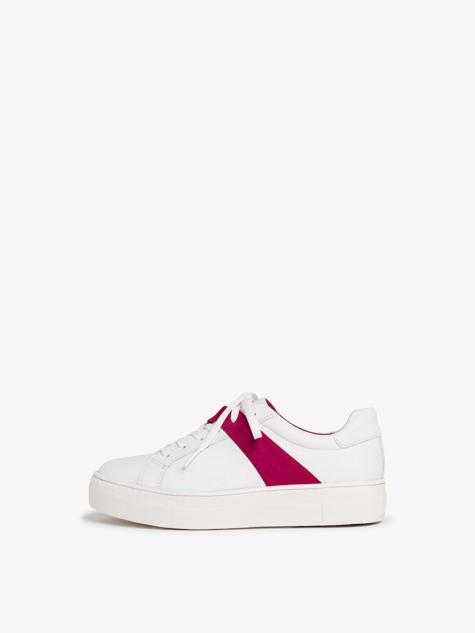 Tamaris Sneaker in Farbe weiß um 50% reduziert online kaufen