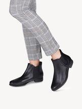Leder Chelsea Boot - schwarz, BLACK, hi-res
