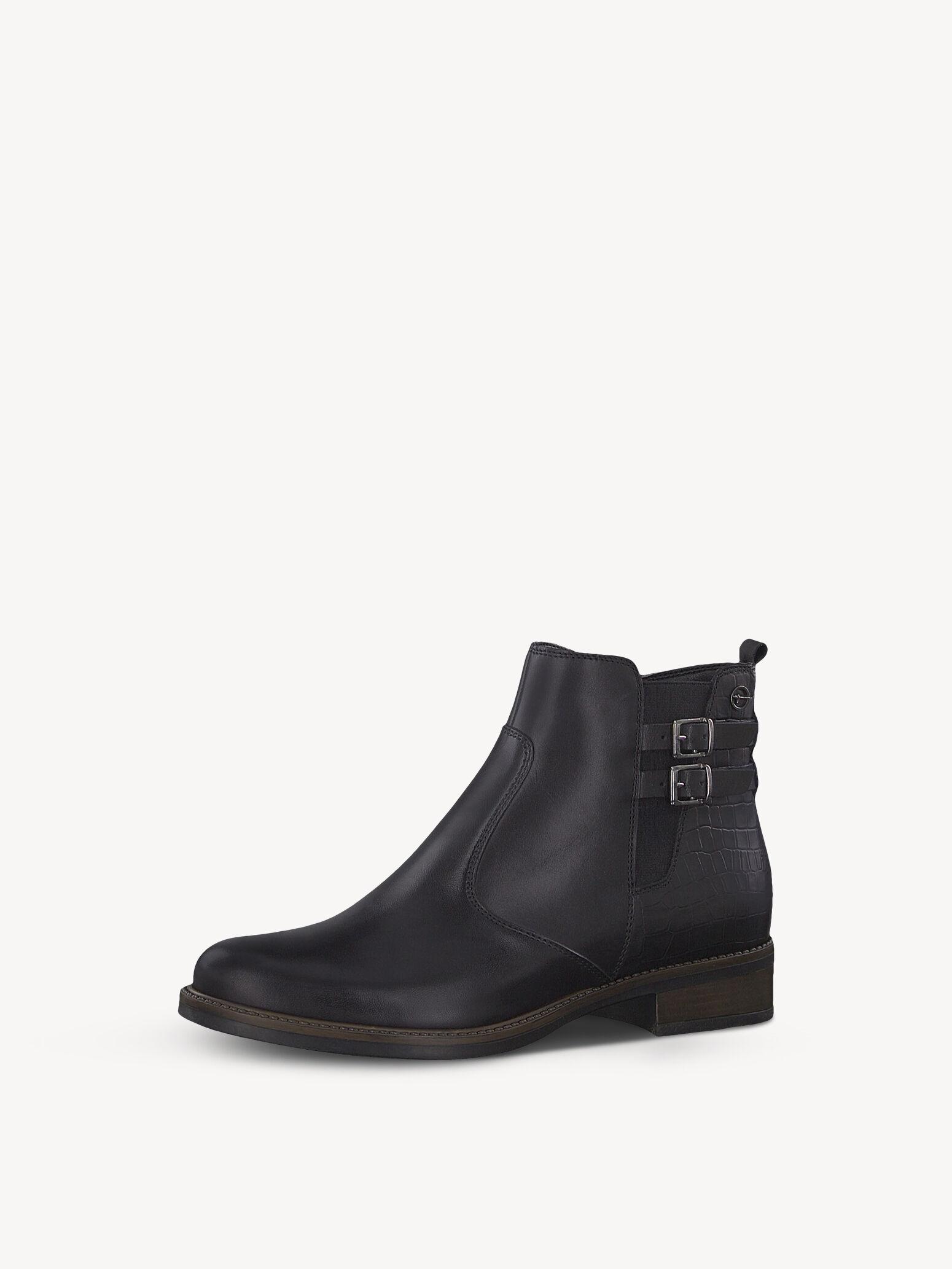 Gut Tamaris Damen Schwarz Schuhe Biker Boots Talues Damen