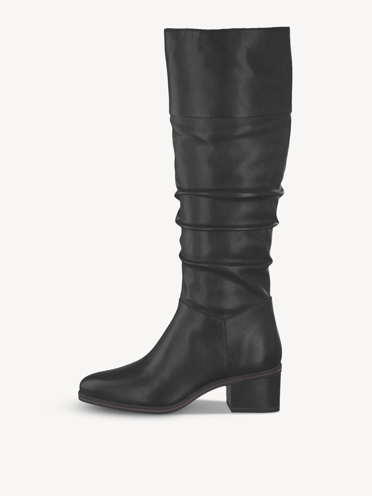 Damen Stiefel im Stiletto Look elastischer Schaft spitz