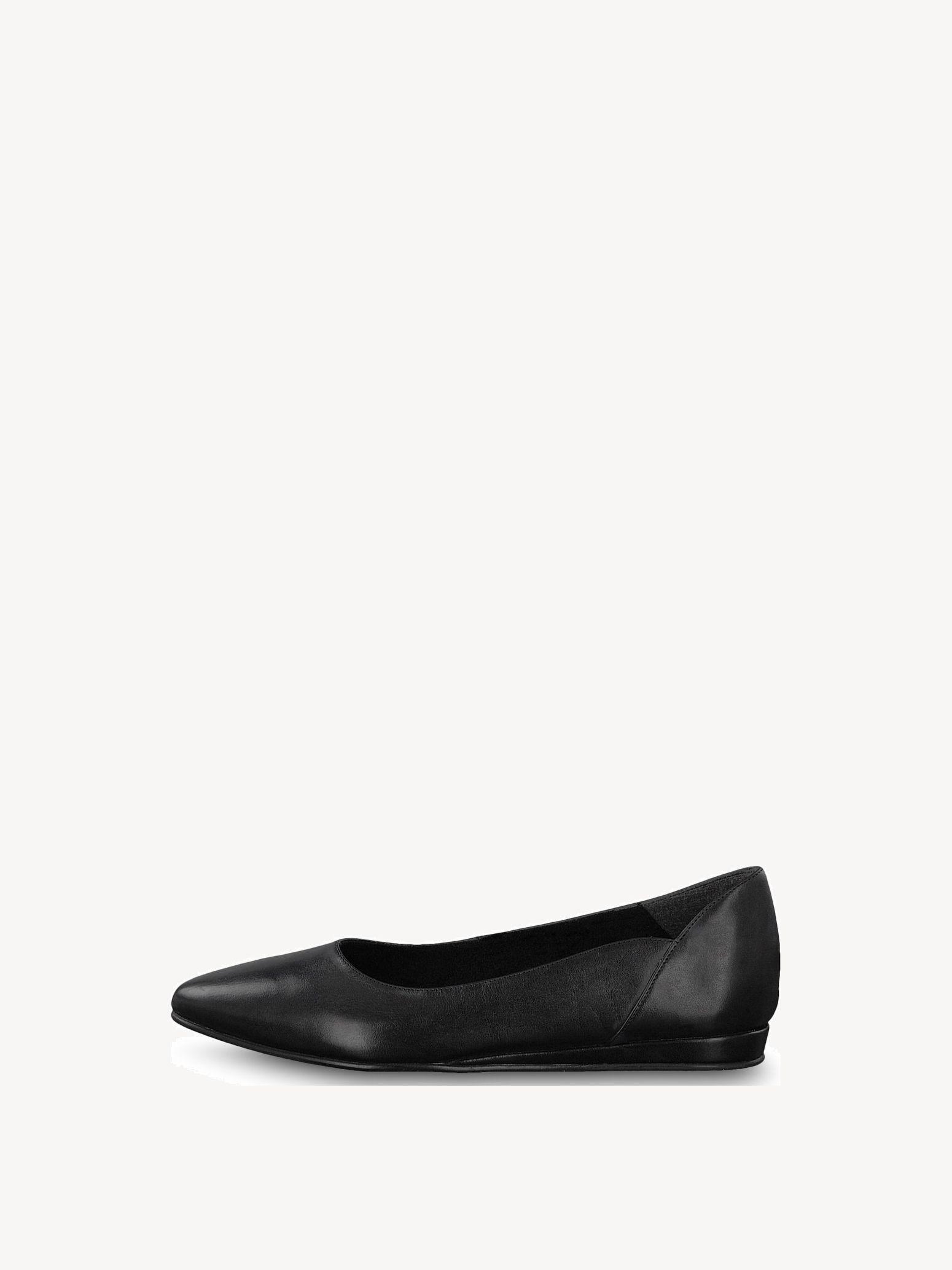 Tamaris Ballerinas Gr.40 schwarz Leder
