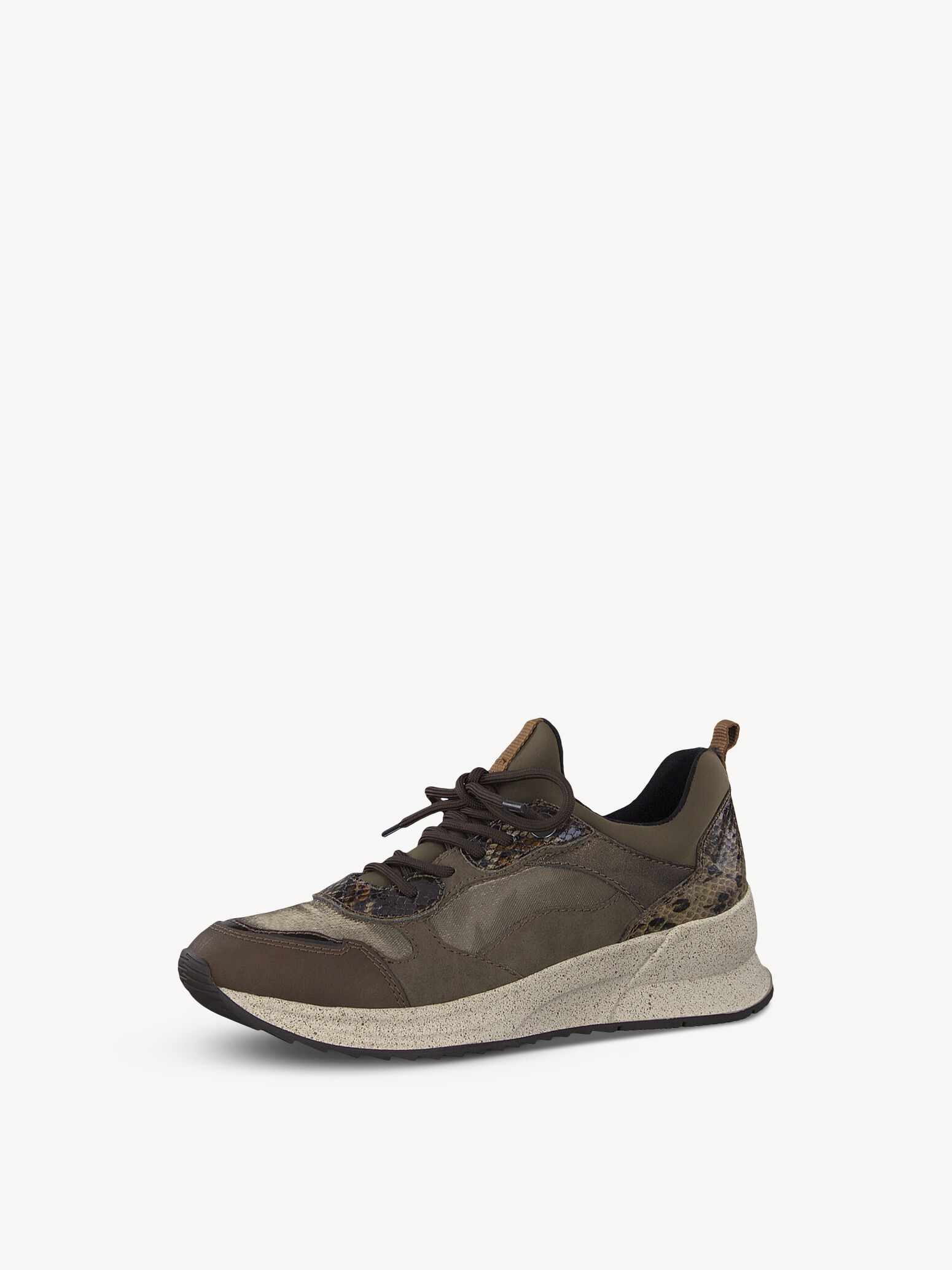 Tamaris LACE-UP - Sneakers - cognac