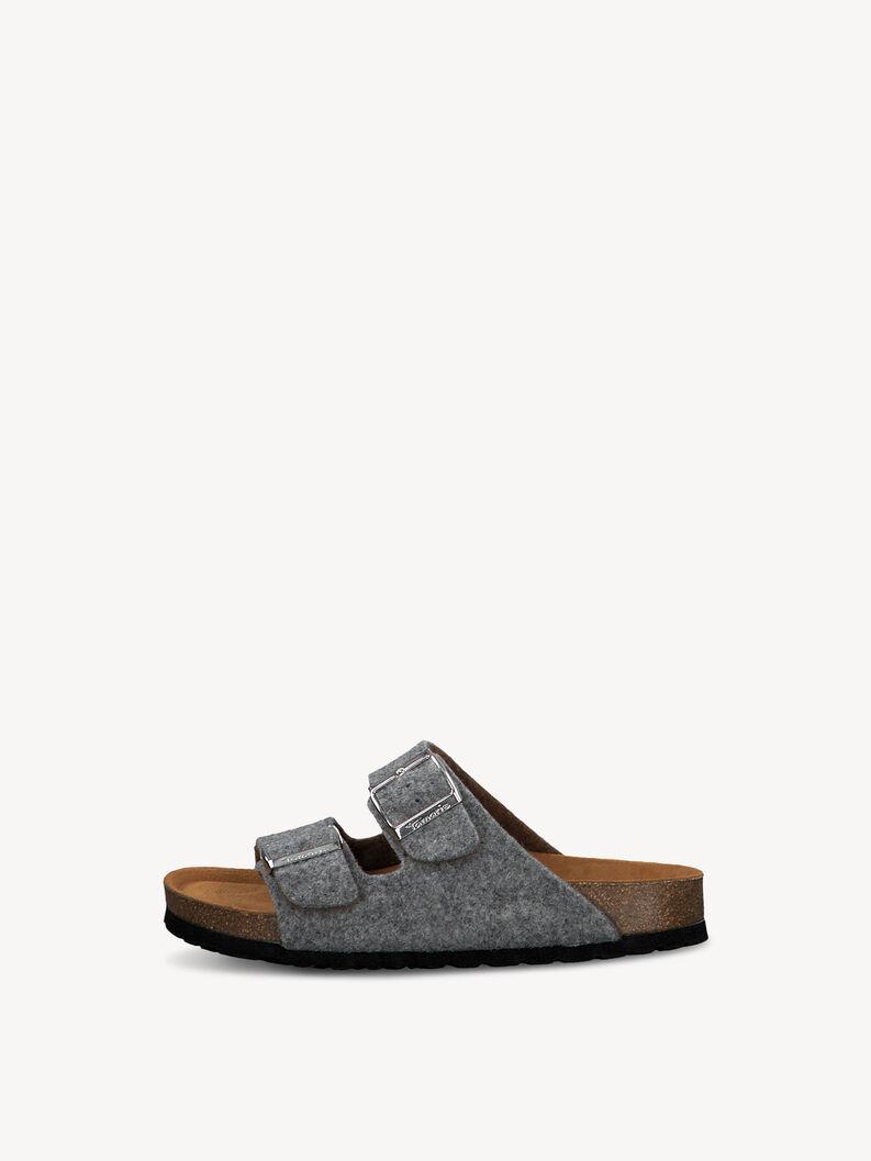 Slippers - grey, GREY, hi-res