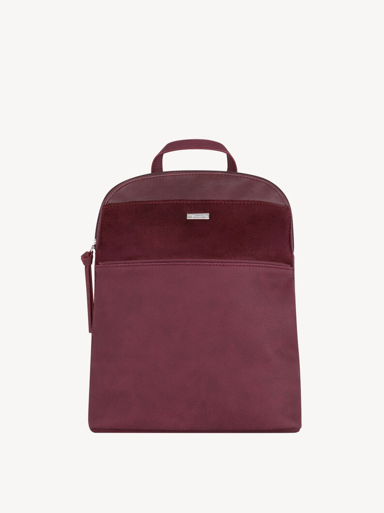 Backpack - red, bordeaux comb, hi-res