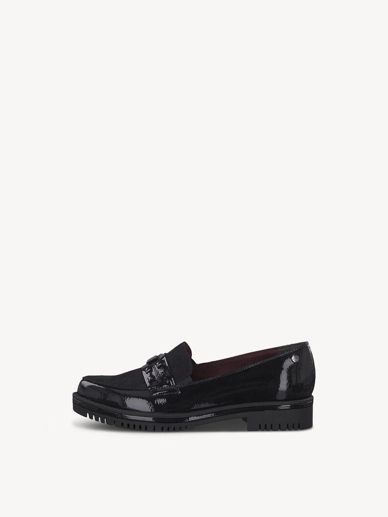 Slipper - black, BLK PAT./BLK, hi-res