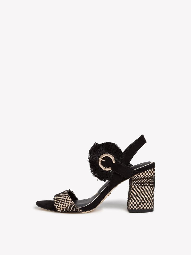 Sandaletten - zwart, BLACK COMB, hi-res