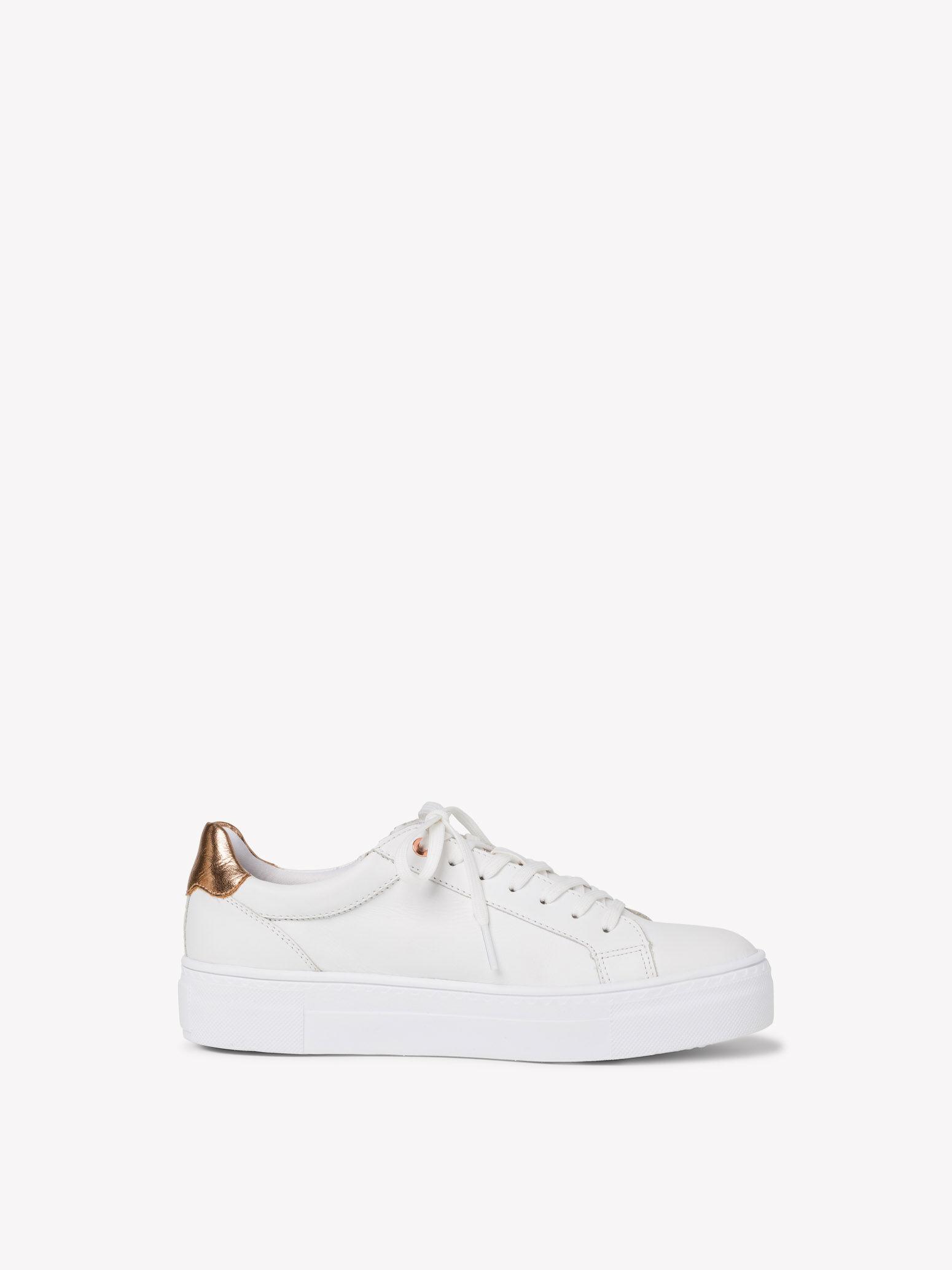 tamaris sneaker weiß rosegold