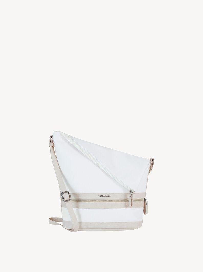 Satchel - white, white comb, hi-res