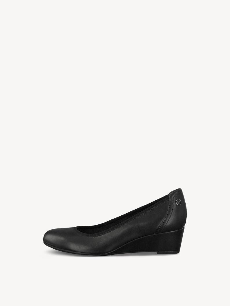 Lederpumps - schwarz, BLACK, hi-res