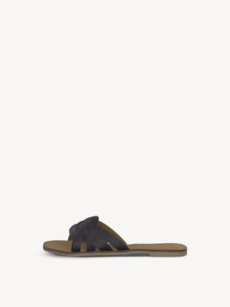 Leather Toe separators - black, BLACK, hi-res