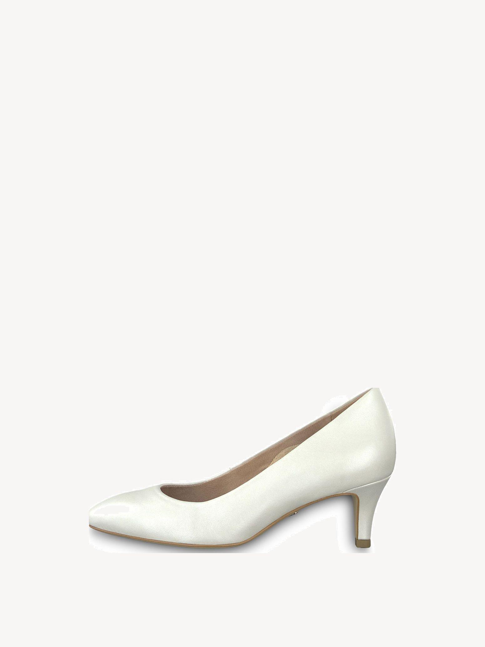 22116, Escarpins Femme, Blanc (White Leather), 43 EUTamaris