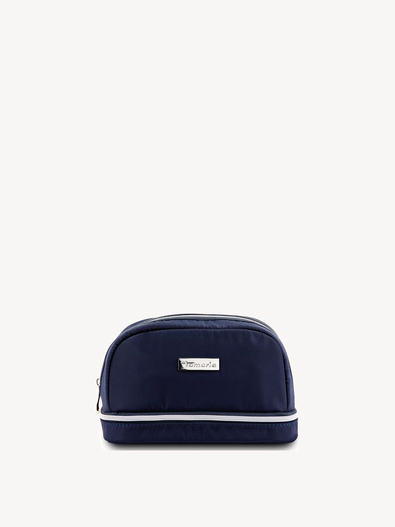 Toiletry bag - blue, navy, hi-res