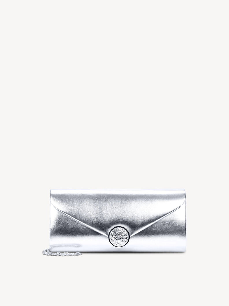 Clutch - silber, silver, hi-res