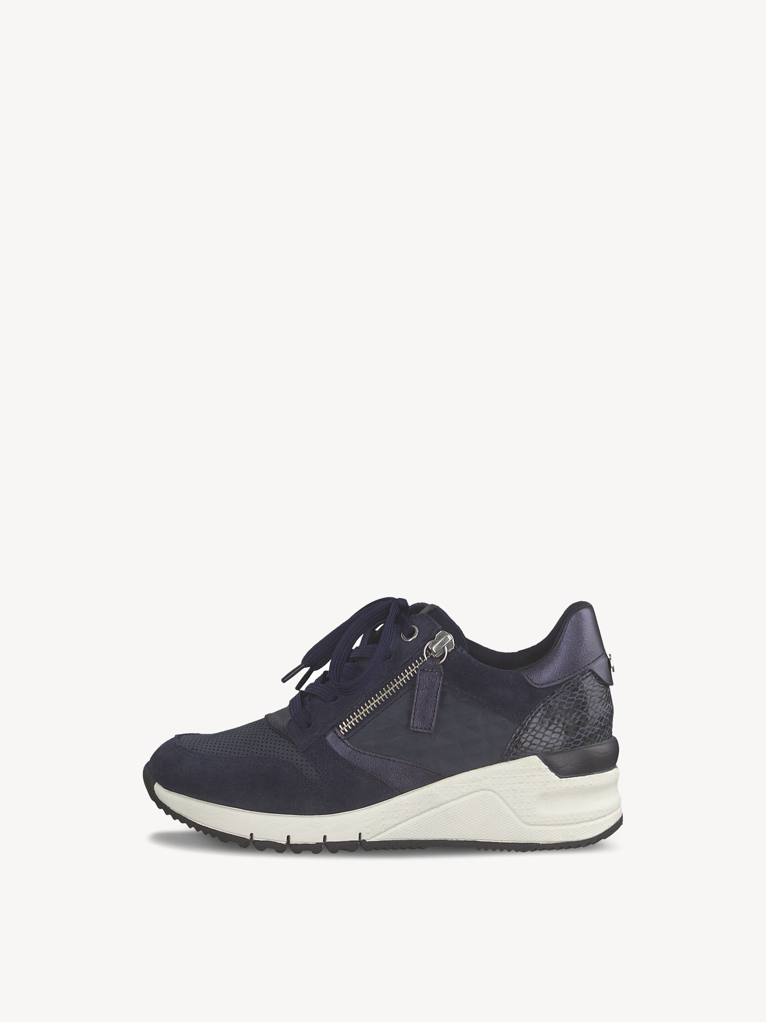 Ledersneaker blau 1 1 23702 24 890 42: Tamaris Sneaker