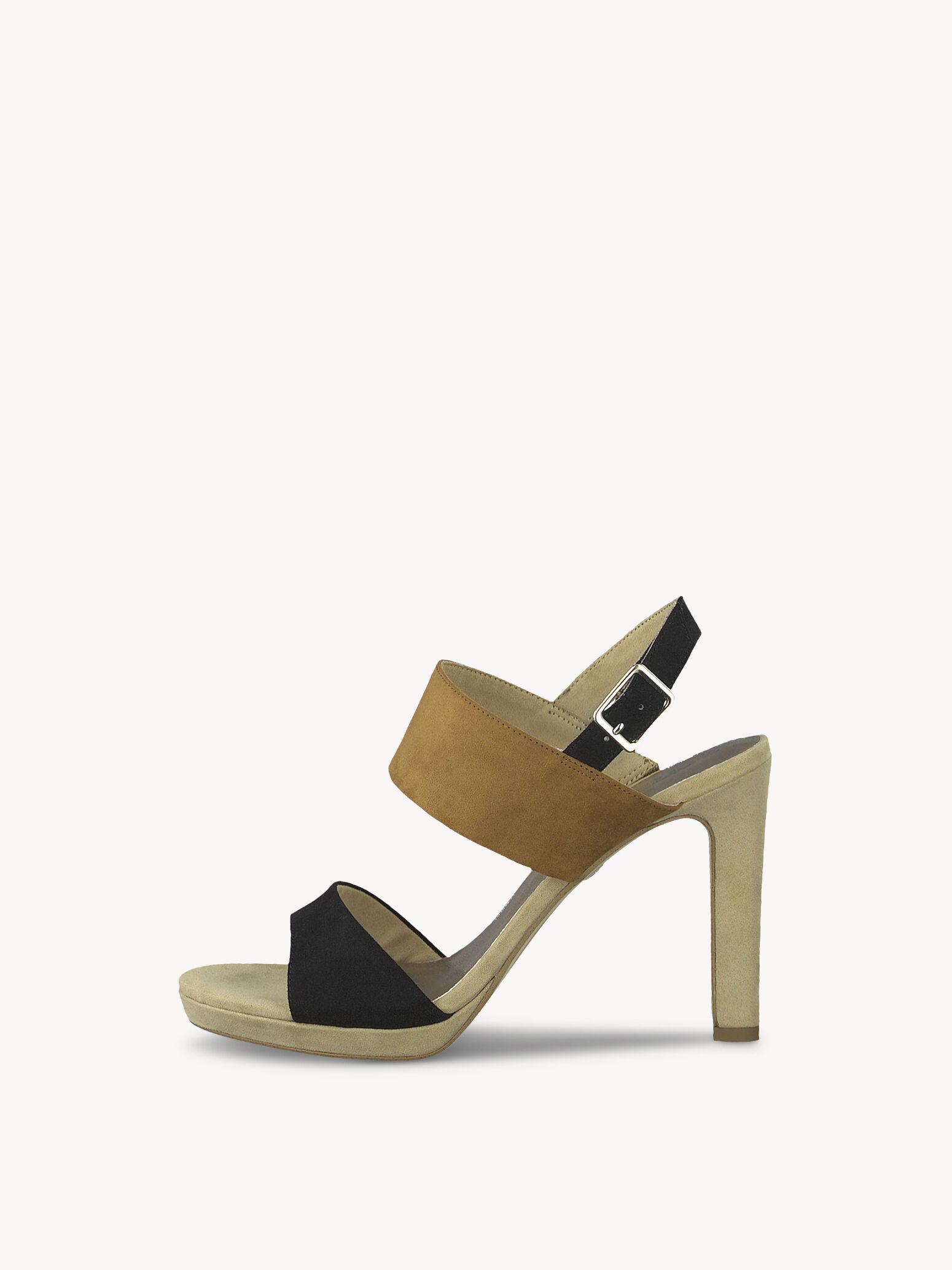 sandale tamaris nut beige noir