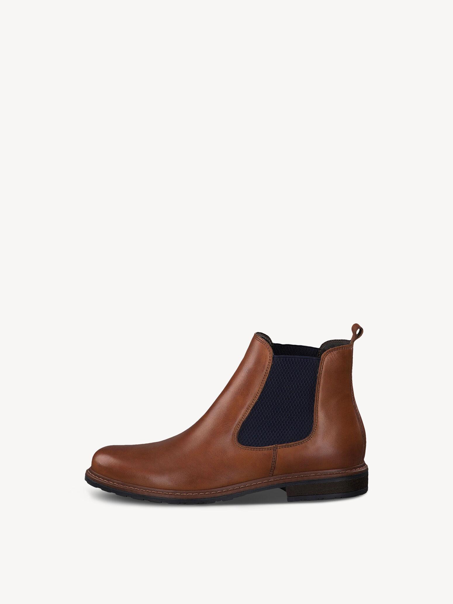 TAMARIS DAMEN PUMPS Schuhe Leder Keilabsatz Cognac 38 braun