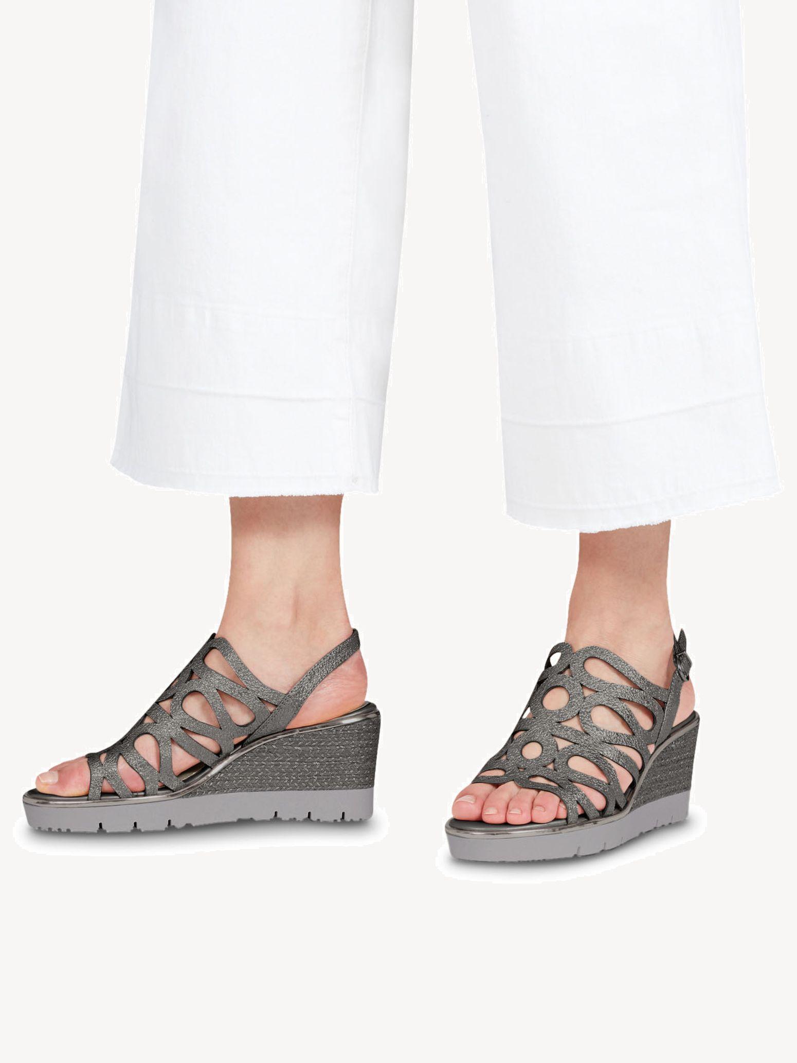 TAMARIS NEU SCHUH Sandale Sandalette Gr. 40 im Orientstyle