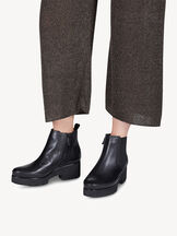 Leather Chelsea boot - black, BLACK, hi-res