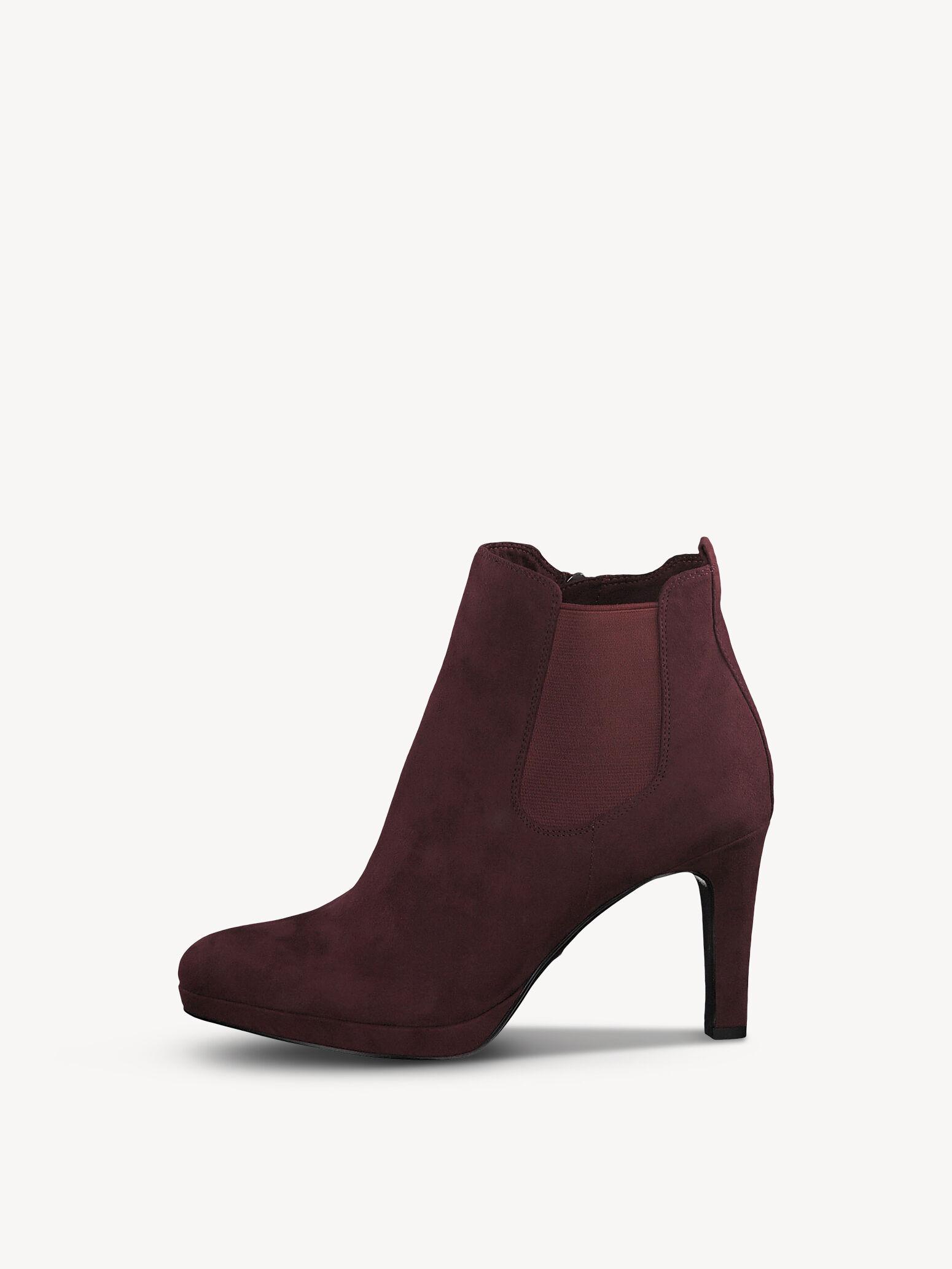 Stiefeletten in rot für Damen online kaufen Tamaris