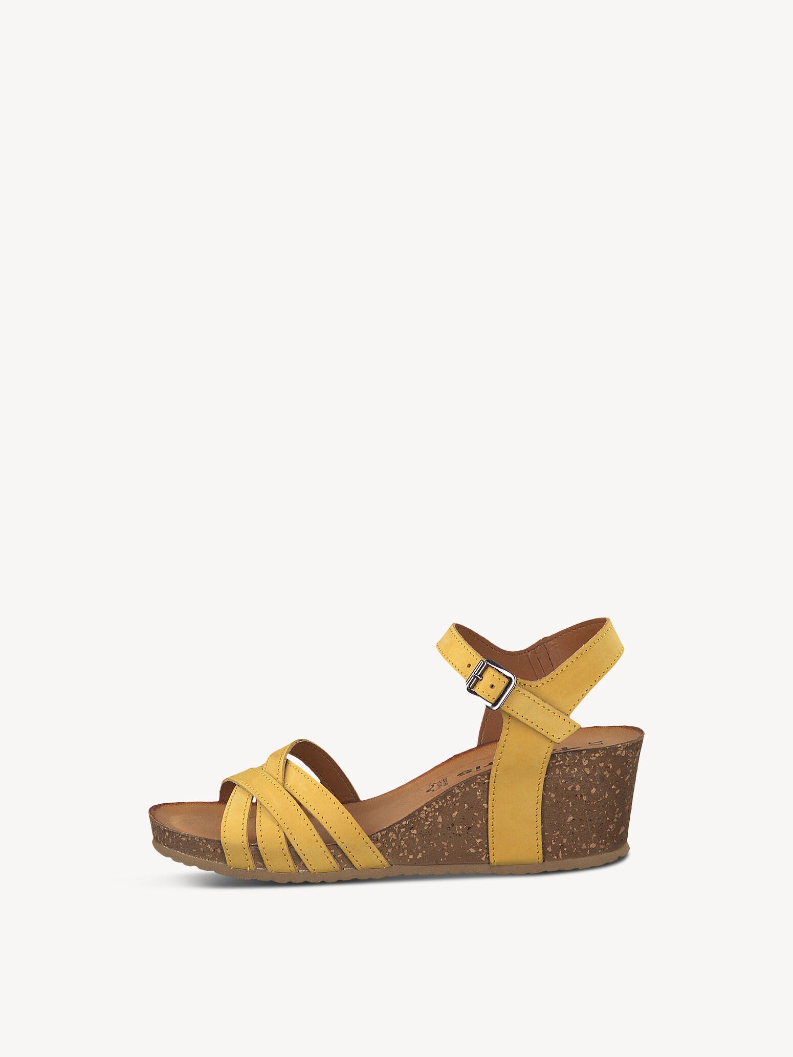 Gelbe Tamaris Sandalen online kaufen | Unverzichtbar für den