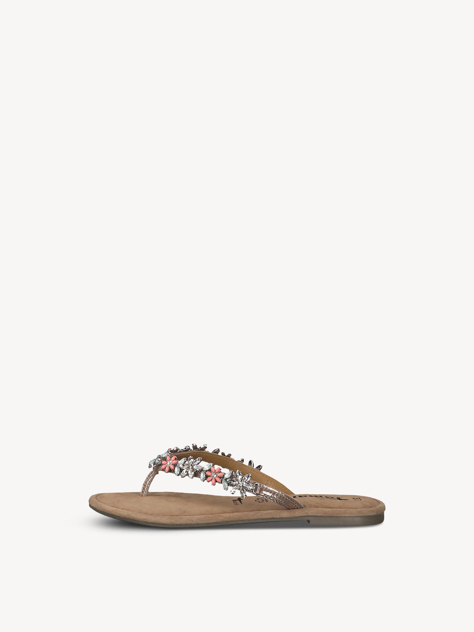 tamaris sandalen rose met