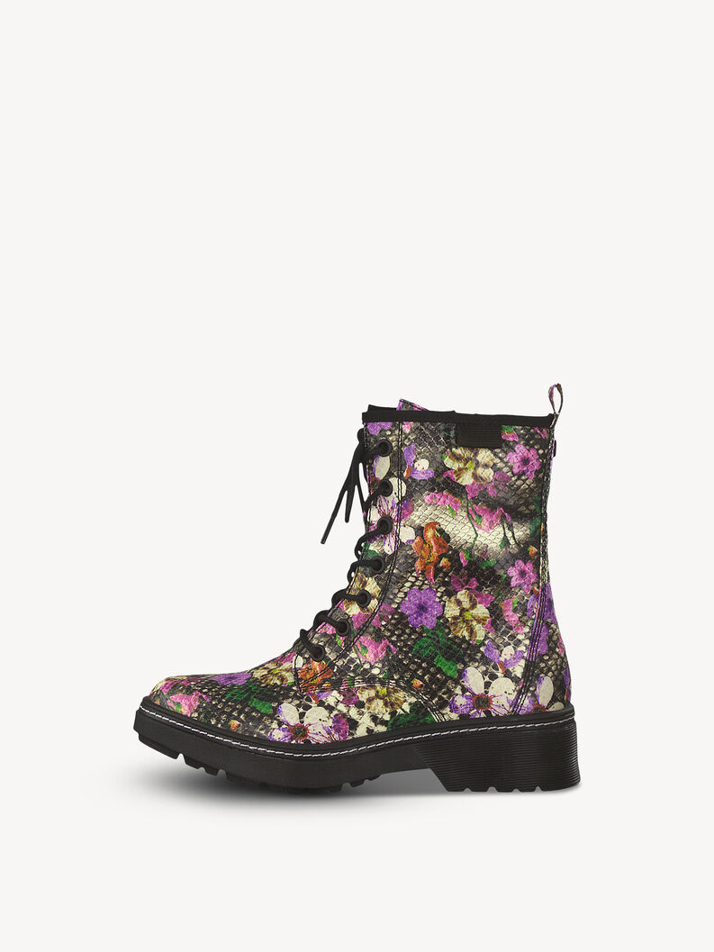 Bootie - multicolor, SNAKE FLOWER, hi-res
