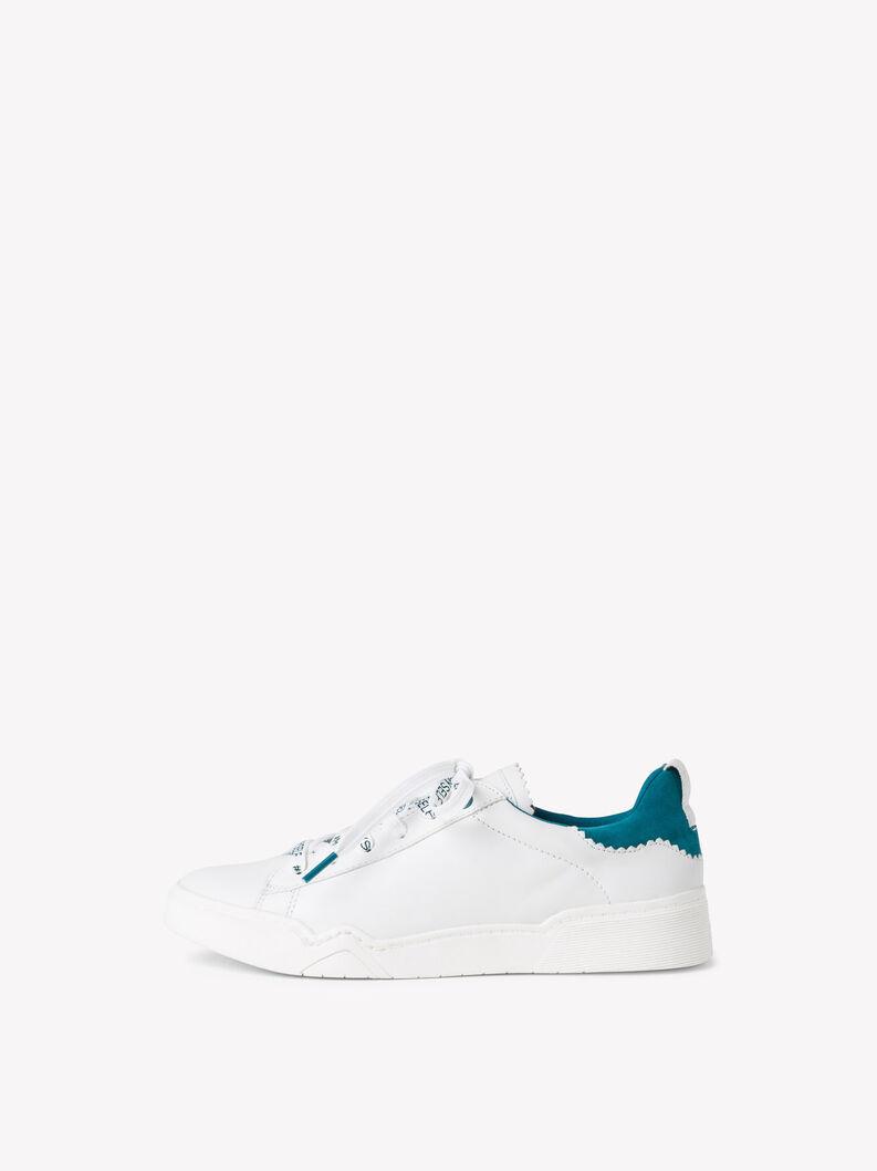 Ledersneaker - grün, TURQUOISE, hi-res