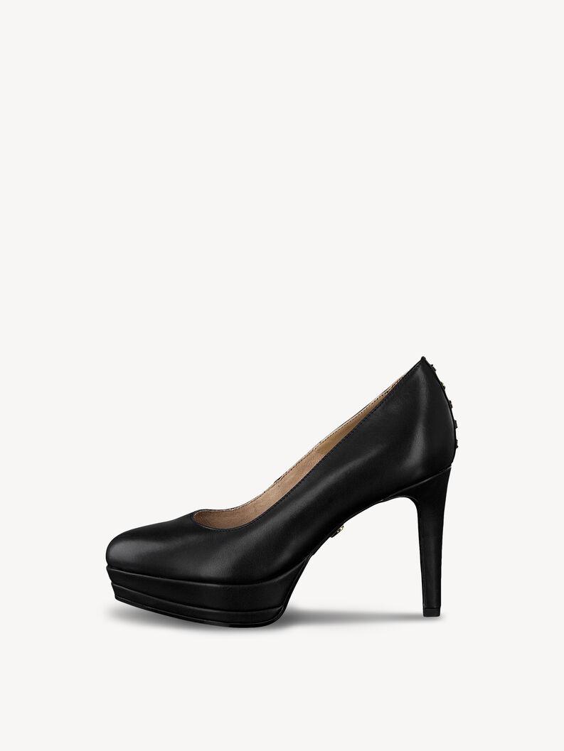 Leather Pumps - black, BLACK, hi-res