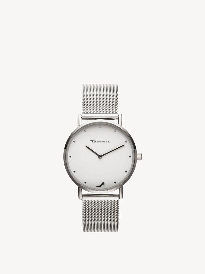 Watch - silver, silber weiss, hi-res
