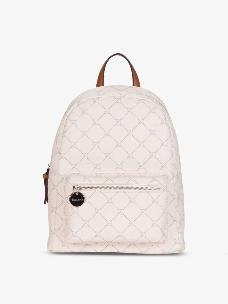 Backpack - white, ecru, hi-res