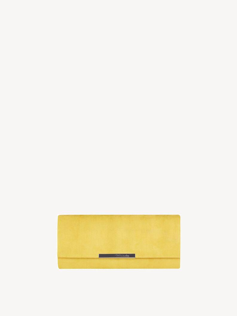 Clutch bag - yellow, sun, hi-res