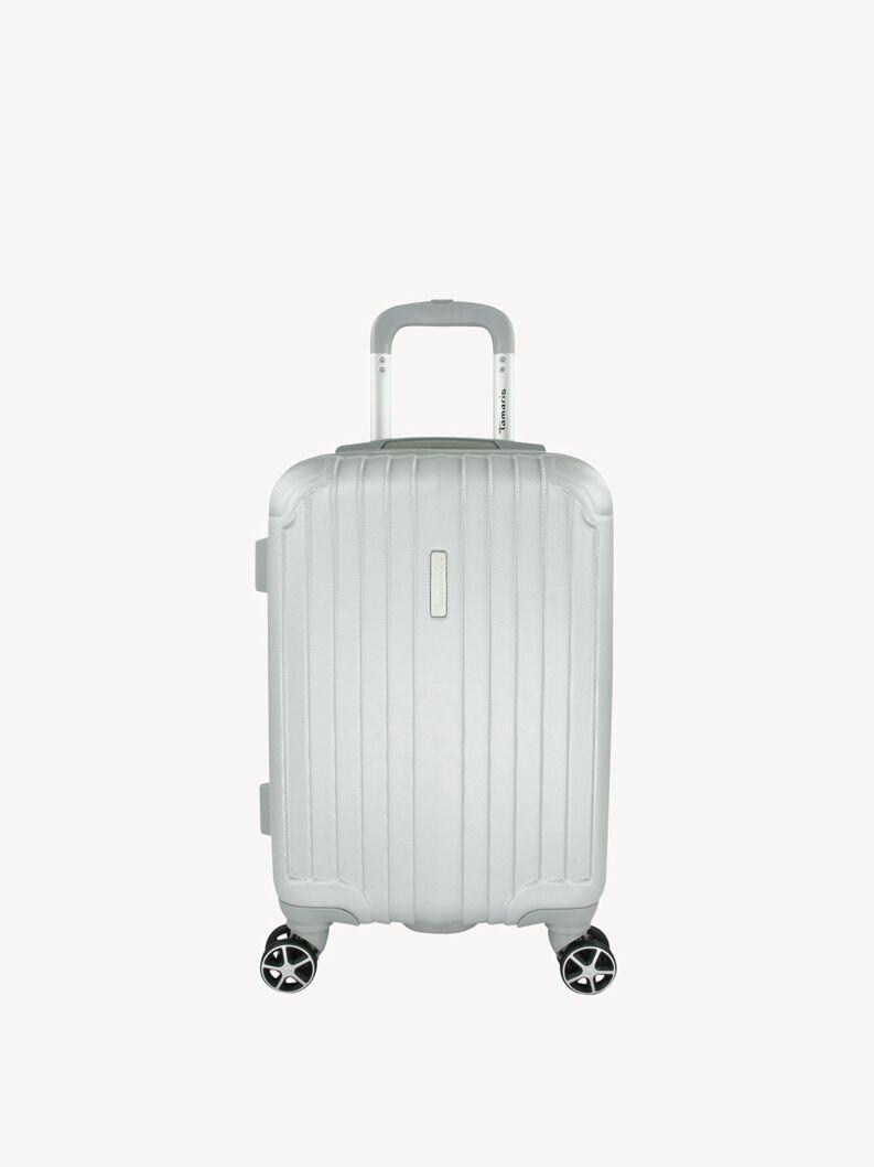 Suitcase S - silver, silver, hi-res