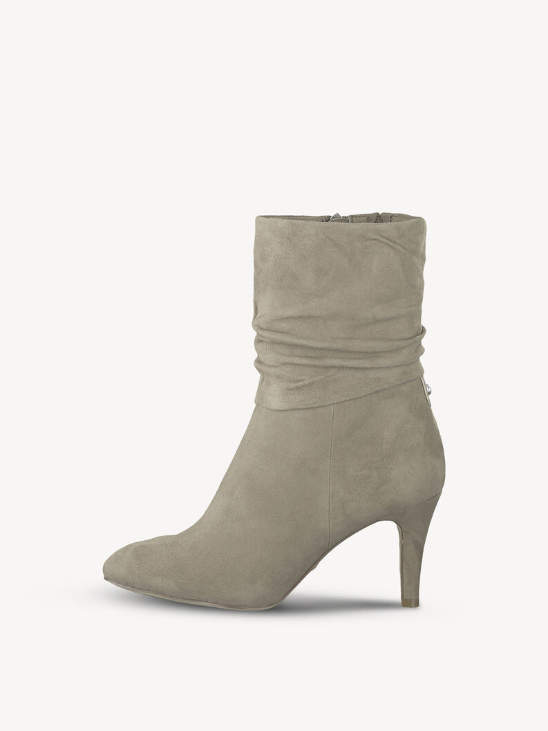 Leather Bootie - brown, ANTELOPE, hi-res