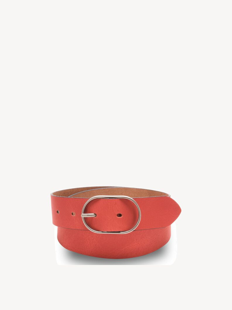 Leather Belts - red, red, hi-res