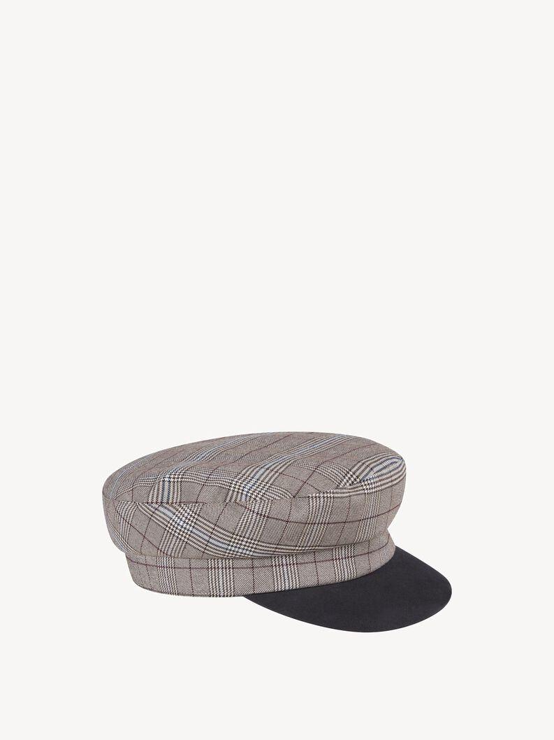 Hat - grey, grey comb, hi-res