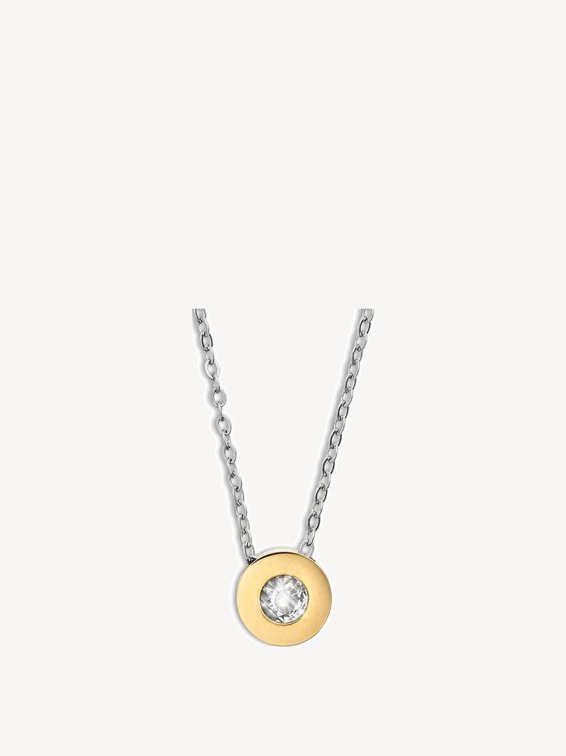 Halskette - silber, silver gold, hi-res