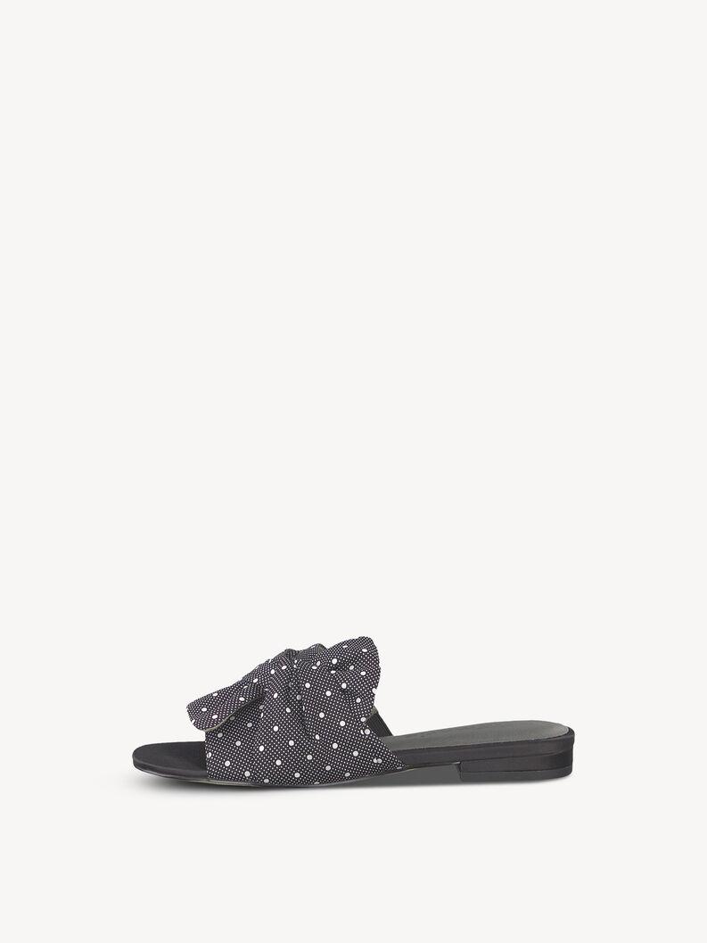 Slip-on schoen - zwart, BLACK DOTS, hi-res